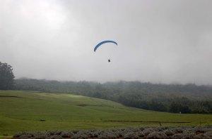 flying human