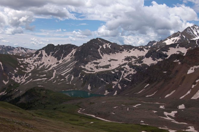 At 13,000+ ft, not for the weak kneed.